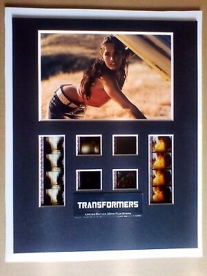Limited Edition Transformers 35mm film strip display