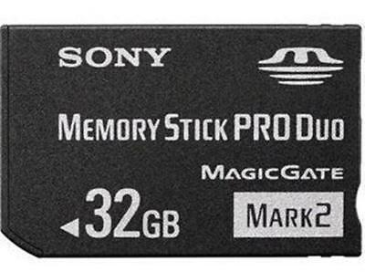 32GB Mark2 Memory Stick Card MS Pro Duo For SONY PSP CAMERA One Year Warranty!