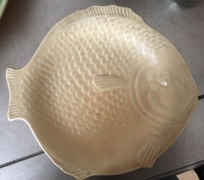 SHORTER AND SON, Art Deco FISH PLATE