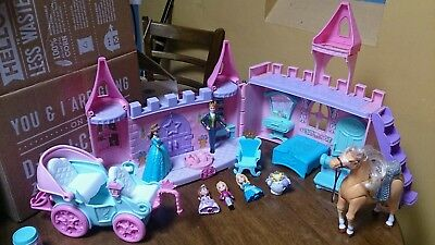 FP Little People CASTLE King QUEEN Prince PRINCESS Horse Carriage MIXED LOT Toys