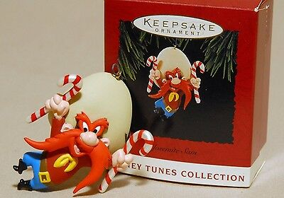 Looney Tunes Hallmark Keepsake Ornament Yosemite Sam 1994 Collectors Box