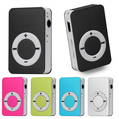 Portable USB Digital MP3 Music Player Support 32GB TF Card Approx 10 hours play