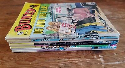 BUNTY PICTURE STORY LIBRARY BOOK JOB LOT x8