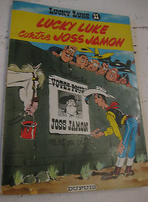 1967 N°11 Lucky Luke contre Joss Jamon BD Jeunesse texte illustrations de Morris