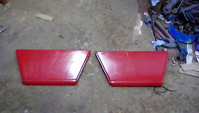 Two Original Case International Tractor 685,785 & 885 Side Panels