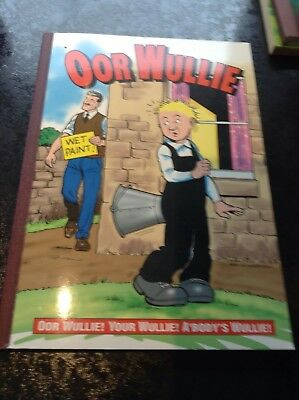Vintage Our Wullie Annual Year 2000