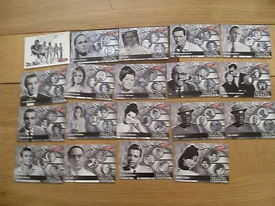 Dr No 40th anniversary trading card commemorative set