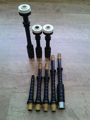 Kilberry 3/4 size or 'Reel' bagpipes (3)