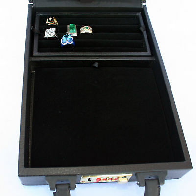 Jewelry watch case Organizer Storage Display Briefcase