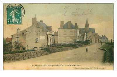 37.la Chapelle Sur Loire.rue Nationale.cp Toilee