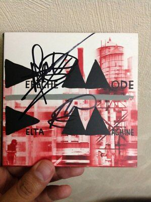 DEPECHE MODE SIGNED Gore and Fletcher CD VERY RARE PHOTO PROOF AUTOGRAPH