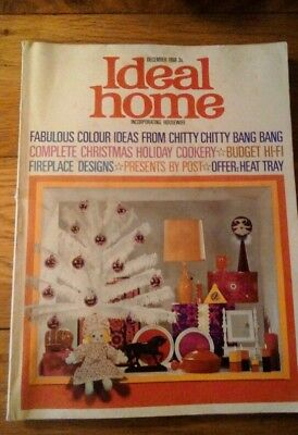 Ideal Home  December 1968 Christmas Number