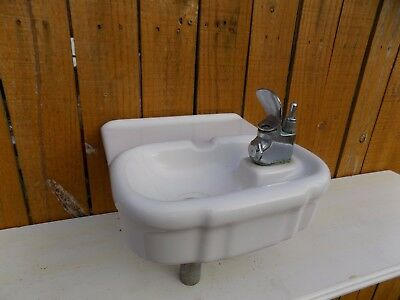 Old Eljer Porcelain Water Fountain School Type Small Size Garage Office Man Cave