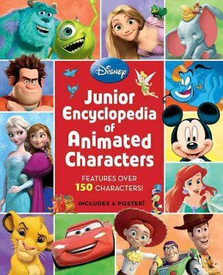 Junior Encyclopedia of Animated Characters by Disney Book Group 9781423189145