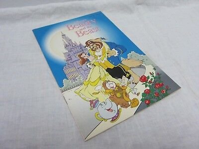 Disney's Beauty And The Beast 1991 Comic Book Official Movie Adaptation F to VF