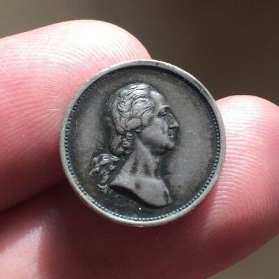 mint issued proto-commemorative circa 1862 Washington SILVER medalet Baker 155A