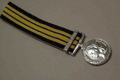 Miniature Ashantee  Medal Coomassie  Clasp