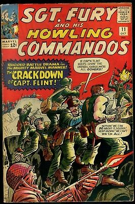 Sgt Fury and His Howling Commando #11 Fine