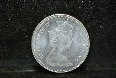 Canada, 1968 10 Cents, silver, About UNC, No Reserve,                         gB