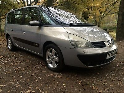 2004 54 Renault Espace Privilege Automatic*full Mot*below Average Miles*history*