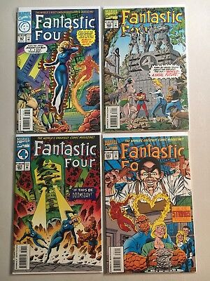 Fantastic Four Lot #377-380, 382-393  16 VF or better condition comics