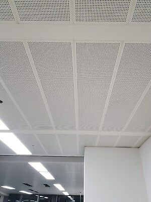 suspended metal used ceiling tiles