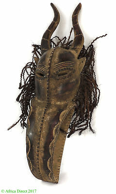 Dan Guere Mask Curved Mouth Africa Art 30 Inch SALE WAS $350