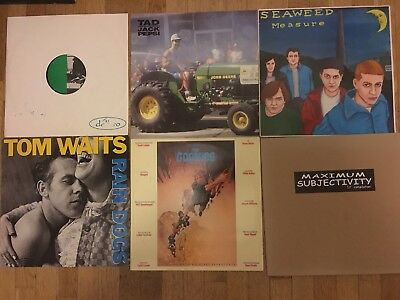 SAMMLUNG 31xLP Indie NDW Rock Tom Waits Nichts Ideal DAF Sub Pop