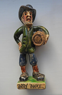 Will Young WidecombeFair Pottery Figure Of 'Arry 'Awke