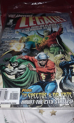 The Legacies Comic No 1 Dc Universe