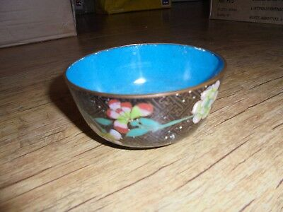Fine Quality Chinese Antique Cloisonné Bowl. c1900. See photos, no reserve.