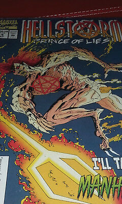 Hellstorm Prince Of Life Comic No 14 Marvel