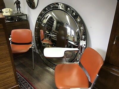 Superb & Very Stylish Large Convex Glass Mirror. Open To Offers.