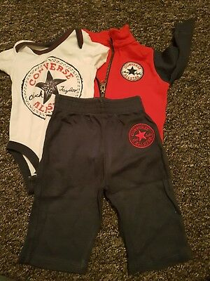 baby boys converse outfit age 3-6 months