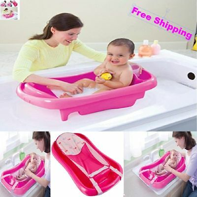 Baby Bath Tub Seat For Newborn and Infant Safety Anti Slip Perfect Shower Tube
