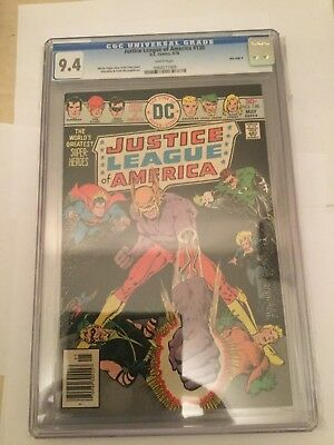 Justice League of America # 130 CGC 9.4 - Mile High II Collection! Very rare!