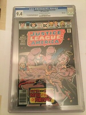Justice League of America # 134 CGC 9.4 - Mile High II Collection! Very rare!