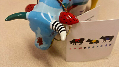 Cows On Parade Figurine #9194 Cow Doodle 2001 Retired Westland