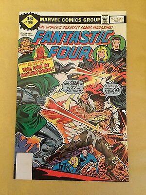 Fantastic Four # 199 - Near Mint