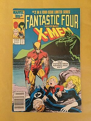 Fantastic Four vs the X-Men # 2 - Near Mint Minus