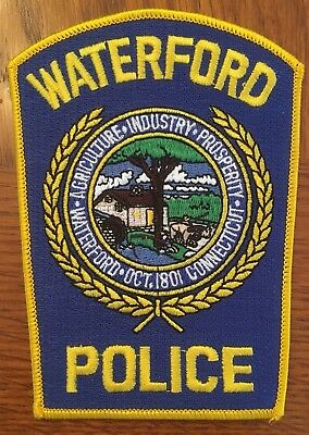 Waterford Police (Connecticut) uniform patch (53)