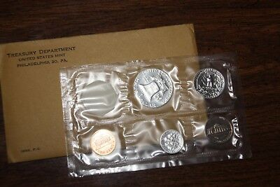 1963 Silver Unc Proof Set with COA U.S. Mint Original Envelope
