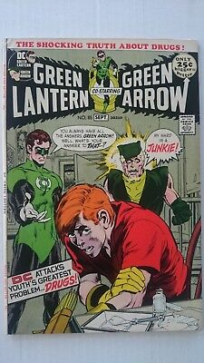 Green Lantern # 85  Vf  Famous Anti Drug Issue  Neal Adams  Cents  1971