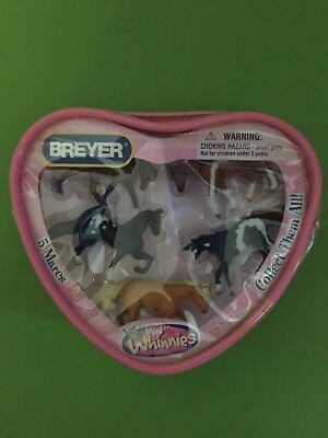 Breyer Mini Whinnies 5 Mares  NEW Item No.300143 Horse pony very RARE HTF