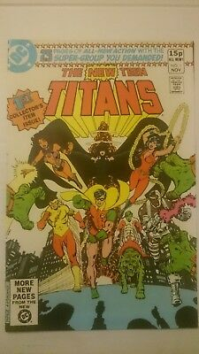 The New Teen Titans # 1   Key  2Nd Appearance Cyborg  Vf+  Pence  1980  Hot