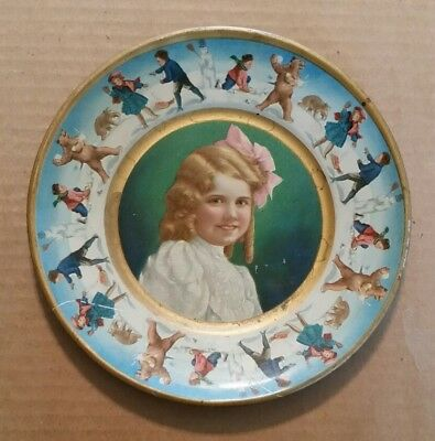 Union Pacific Tea Co.,Advertising Tin Litho Plate,1907