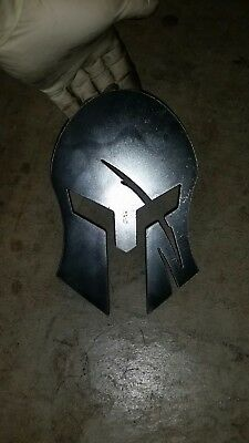 DIY spartan helmet for hitch cover