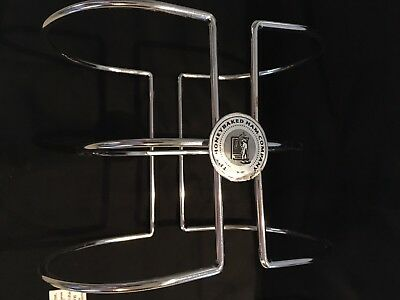 The Honey Baked Ham Company Metal Spiral Cut Ham Holder Stand Rack with Logo