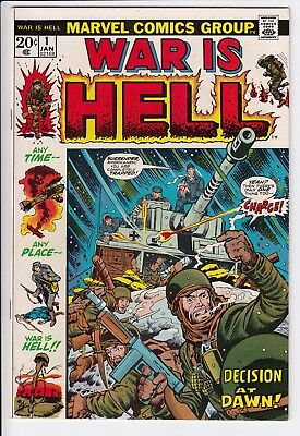 War is Hell # 1 NM- Big Premiere Issue