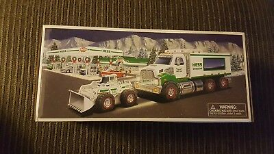 2008 Hess Toy Truck and Front Loader - NIB